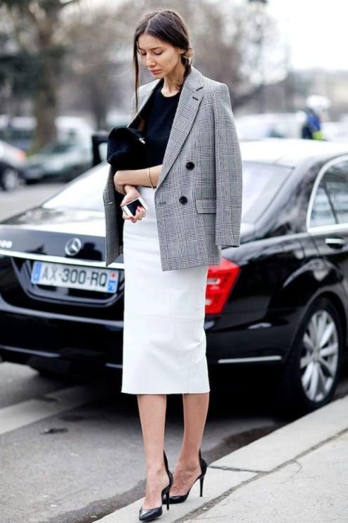 glen-plaid-white-pencil-skirt-work-fall-spring-via-pinterest-640x960